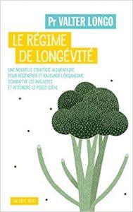 livre du professeur Longo : le régime de longévité