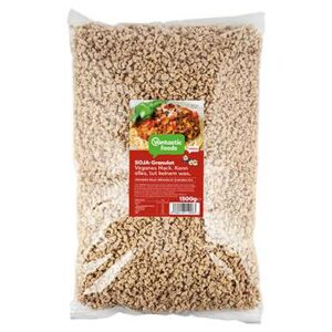 protéines de soja hachés